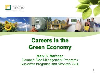 Careers in the  Green Economy