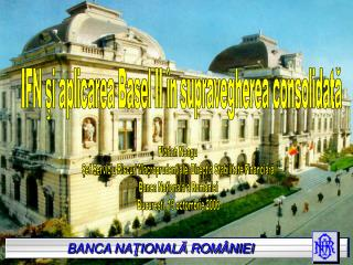 BANCA NATIONALA ROM NIEI