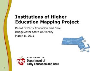 Institutions of Higher Education Mapping Project