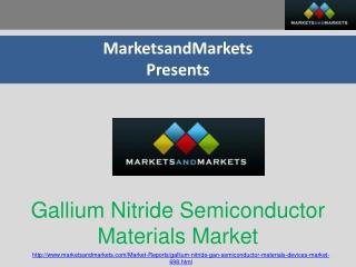 Global Gallium Nitride (GaN) Power Semiconductors Market