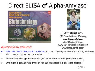 Ellyn Daugherty SM Biotech Career Pathway BiotechEd ellynBiotechEd sargentwelch