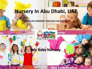 The Leading Nursery in Abu Dhabi UAE