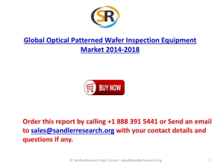 Global Optical Patterned Wafer Inspection Equipment Industry