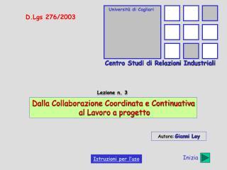 Universit  di Cagliari