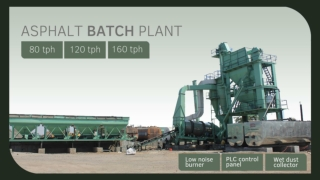 Asphalt Batch Mix Plant manufacturer