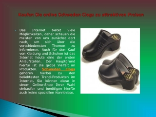 Giasco Clogs