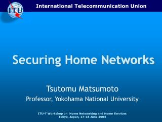 Securing Home Networks