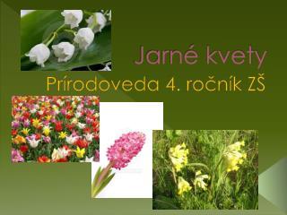 Jarn  kvety