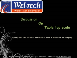 Table Top scale, Table top scale manufacturers, electronic w