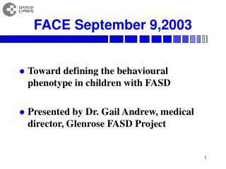 FACE September 9,2003