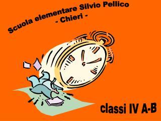 Scuola elementare Silvio Pellico  - Chieri -