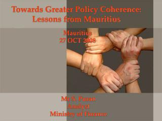 Towards Greater Policy Coherence:  Lessons from Mauritius