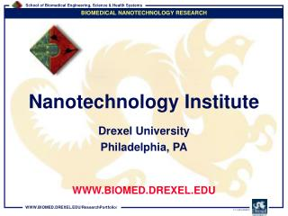 Drexel University Philadelphia, PA