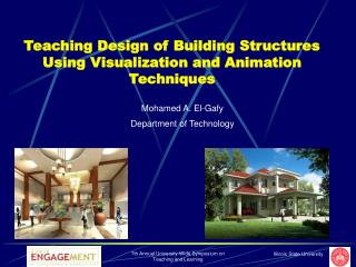 Teaching Design of Building Structures Using Visualization and Animation Techniques
