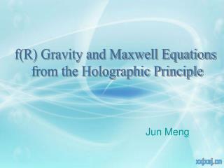 Jun Meng