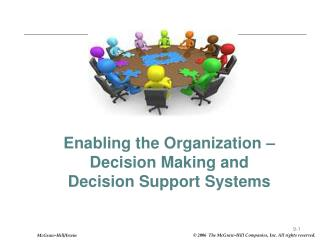Enabling the Organization   Decision Making and Decision Support Systems