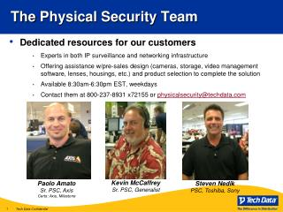 The Physical Security Team