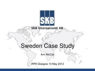 Sweden Case Study