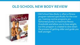 Old School New Body PDF Online