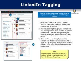 LinkedIn Tagging