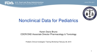 Oral Pharmacologic Agents for the Pediatric Patient