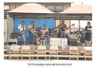 Full Circle plays some old time rock  roll