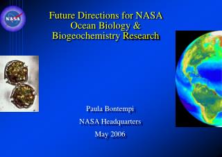 Future Directions for NASA Ocean Biology  Biogeochemistry Research