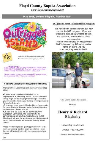 Floyd County Baptist Association floydcountybaptist