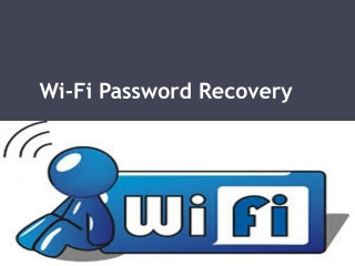 Wifi PasswordRecovery - How to Recover Wifi Password