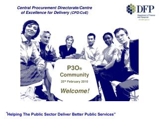 P3O  Community 25th February 2010 Welcome