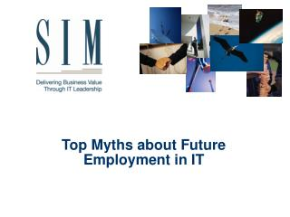 Top Myths about Future Employment in IT