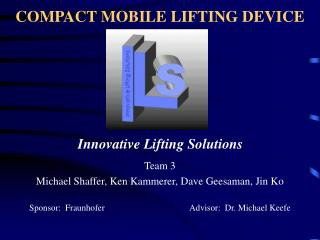 COMPACT MOBILE LIFTING DEVICE