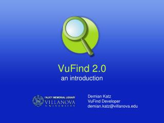 VuFind 2.0 an introduction