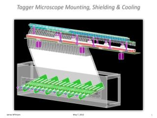 Tagger Microscope Mounting, Shielding  Cooling