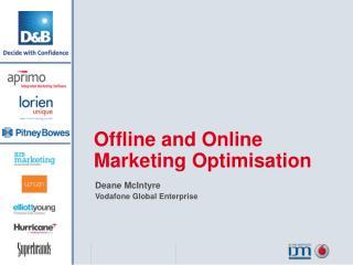 Deane McIntyre  Vodafone Global Enterprise