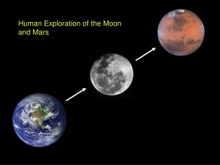 Human Exploration of the Moon and Mars