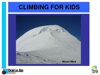 CLIMBING FOR KIDS