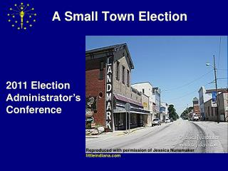 A Small Town Election