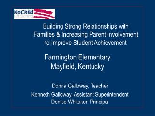 Farmington Elementary Mayfield, Kentucky