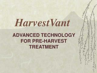 HarvestVant