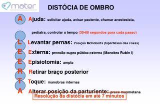 DIST CIA DE OMBRO