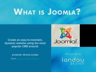 What Is Joomla - Landau Design Reviews