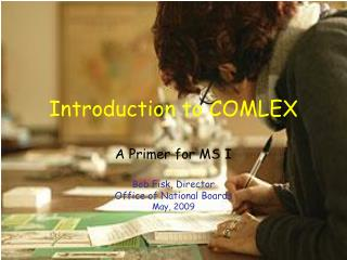 Introduction to COMLEX