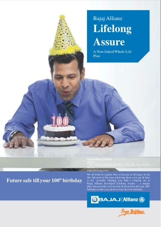 Bajaj Allianz Life Long Assure| Retirement Insurance