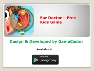 Ear Doctor - Free Kids Game