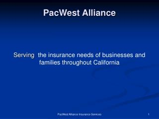 PacWest Alliance