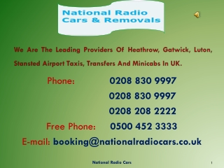Heathrow Airport Minicab Service
