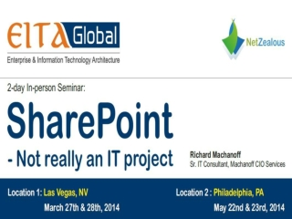 SharePoint - Not really an IT project BY EITAGlobal