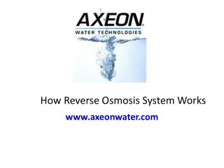 Reverse Osmosis, RO Water Treatment, Filtration, Purificatio