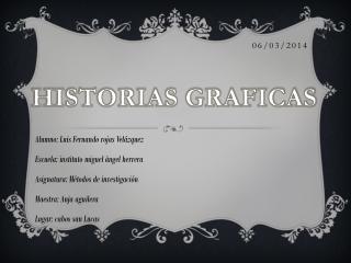 Historia Gráfica